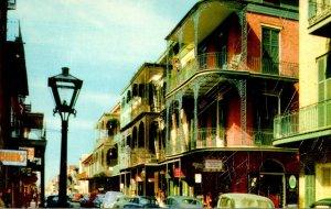 Louisiana New Orleans Saint Peter Street