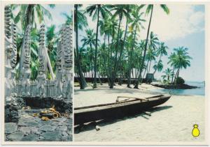 CITY OF REFUGE NATIONAL HISTORIC PARK, Honaunau, Island of Hawaii, Postcard