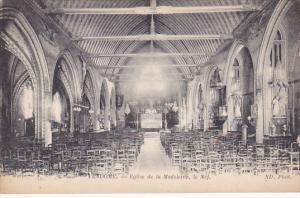 Vendôme , France , 00-10s ; Eglise de la Madeleine , le Nef