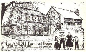 Pennsylvania Lancaster The Amish Farm and House