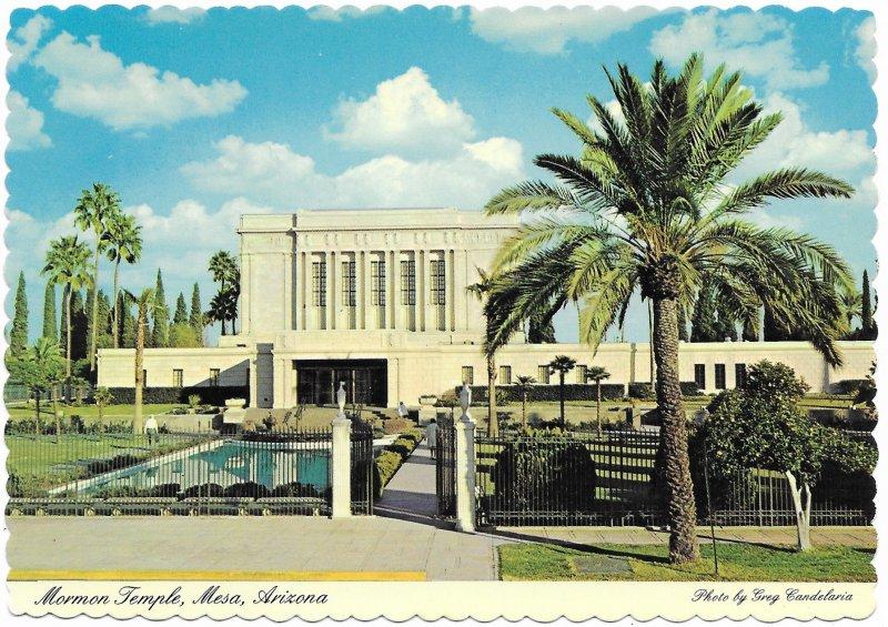 US  Unused.  Mesa, Arizona.  Mormon Temple.