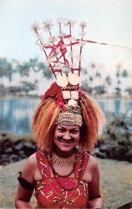 Taupou means dance Leader Fiji Unused
