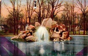 Indiana Indianapolis Military Park Fountain