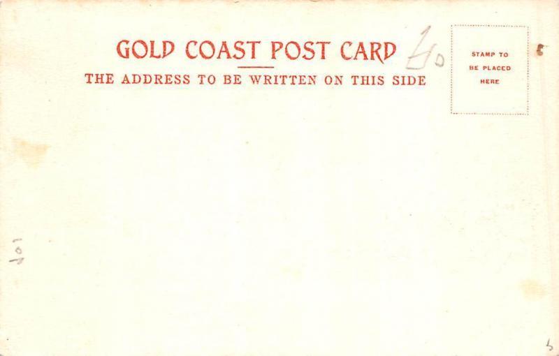 Ghana Gold Coast Cape Coast troops postcard