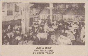 Virginia Richmond Hotel John Marshall Coffee Shop