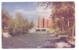 Riverside Hotel and Truckee River, Reno, Nevada,  40-60s