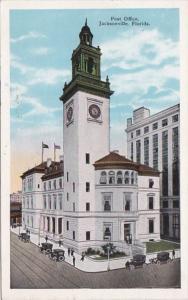 Florida Jacksonville Post Office 1929