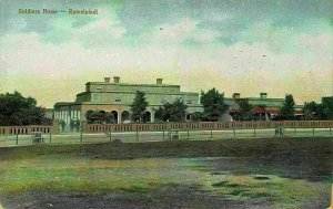 Pakistan Soldiers Home Rawalpindi Postcard