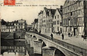 CPA MEAUX - Le Pont du Marché - Facade des vieux Moulins (436419)