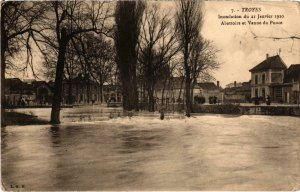 CPA TROYES Inondations Aube (100866)