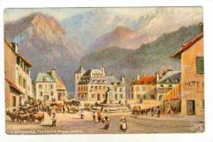 Laruns , Pyrénées-Atlantiques department , France. 00-10s   Market Place