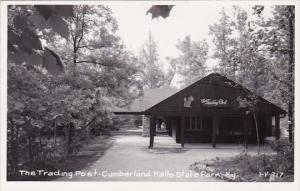 The Trading Post Cumberland Falls State Park Kentucky Real Photo