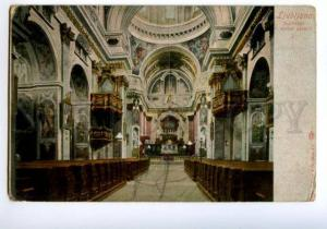 138278 Slovenia LJUBLJANA Cathedral CHURCH Notranje v stolni