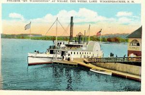 NH - The Weirs, Lake Winnipesaukee. MV Mt Washington