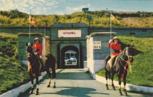 Entrance To Historic Citadel Hill, Soldiers, Halifax, Nova Scotia, Canada, 19...