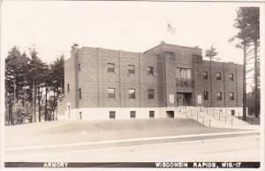 RP: Armory, Wisconsin Rapids, Wisconsin, 1930-50s