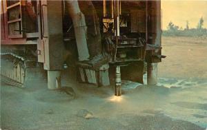 Jet Piercer Burner Mining Equipment Taconite Minnesota MN Postcard