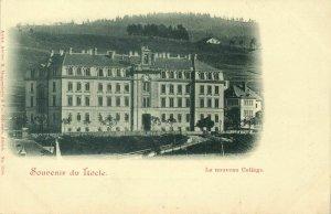 switzerland, LE LOCLE, Le Nouveau College (1900s) Postcard