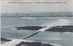Florida Miami New Rickenbacher Causeway