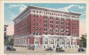 Kentucky Louisville New Y M C A Building Broadway And Third Avenue