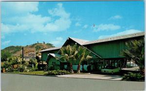 SAN DIEGO, CA California    VAGABOND MOTOR HOTEL  c60s Car  Roadside  Postcard