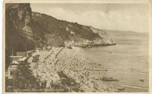 United Kingdom, Oddicombe Beach, Babbacombe, 1946 used