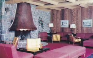 Interior View, Lounge of Chateau Lac Beauport, Lac Beauport, Quebec, Canada, ...