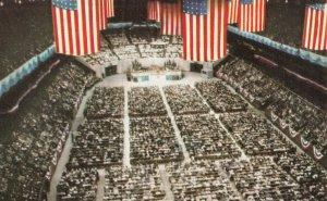 NEW YORK CITY , 1950-60s ; Madison Square Garden ; Billy Graham Crusade