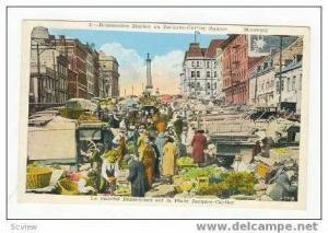 Bonsecours Market on Jacques-Cartier Square, Quebec, Montreal, Canada, 10-30s