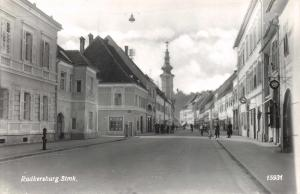 Vintage Austria Real Photo Postcard, Radkersburg, Sudoststeiermark W47