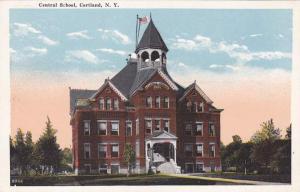 Central School - Cortland NY, New York WB Wm Jubb