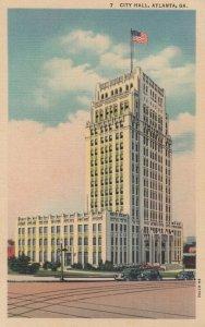 ATLANTA , Georgia , 30-40s ; City Hall