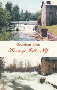 Greetings from Honeoye Falls NY, New York - Falls and Creek Views