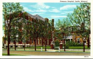Missouri Joplin Freeman Hospital Curteich