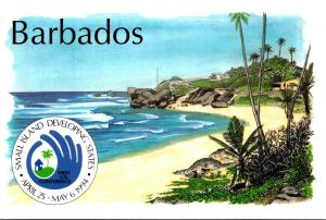 Barbados Beach View Small Island Developing States United Nations Conference