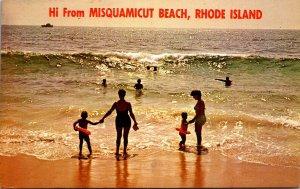 Rhode Island Hi From Misquamicut Beach
