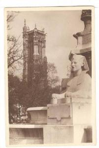 RP, Place Du Chatelet Et Tour Saint-Jacques, Paris, France, 1920-1940s