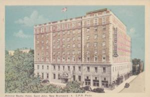 Admiral Beatty Hotel, Saint John, New Brunswick, Canada, 1910-1920s