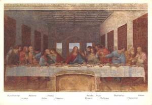 L'Ultima Cena Leonardo da Vinci Milano S. Maria delle Gruzie, Last Supper