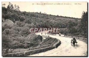 Old Postcard Route Huelgoat has Carhaix