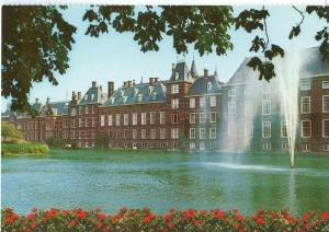 Den Haag, Hofvijver met Parlementsgebouwen, unused Postcard