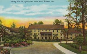 Indiana Mitchell Spring Mill Inn Spring Mill State Park Curteich