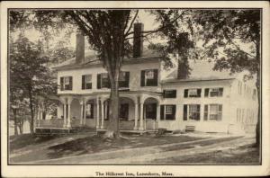 Lanesboro MA Hillcrest Inn c1915 Postcard