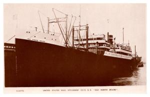 S.S. Old North Star , U.S.Mail Steamship Co. , RPC