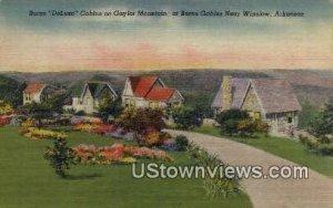 Burns DeLuxe Cabins, Gaylor Mountain - Winslow, Arkansas AR
