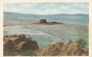 Black Rock, Great Salt Lake, Utah early 1900s unused Post...
