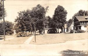 Jefferson Iowa~Residential Area Nr The Junction of Route 17 & 150 RPPC 1947