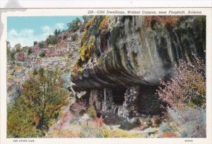 Arizona Cliff Dwellings Walnut Canyon Near Flagstaff Curteich