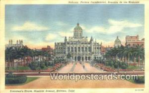 Havana Republic of Cuba President's House, Missions Ave  President's House, M...
