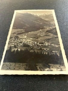 Postcard 1947 STEINACH AB 4050m Austria RPPC pub. Much Heiss,